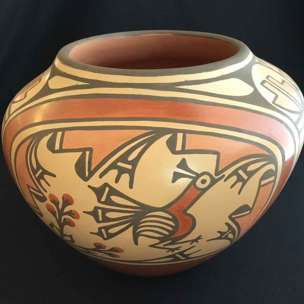 Zia Polychrome Olla Pot, by Ruby Panana
