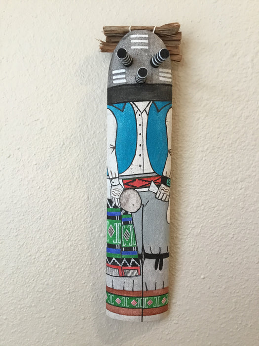 Mocking (Copy Cat) Wall Doll Kachina, by Wilmer Kaye