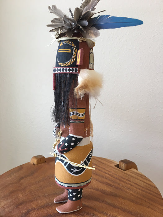 Snake Guard Hopi Kachina Doll, by Lenno Polingyumptewa