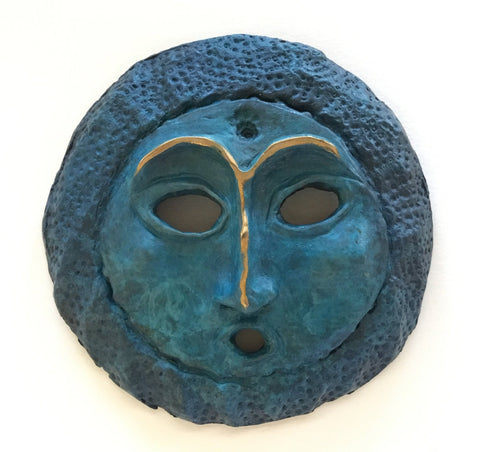 Baby Moon Bronze, by Lillian Pitt