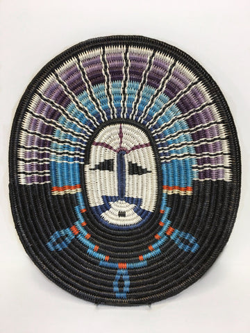 Navajo Basket, by Elsie Holiday, Moon Basket