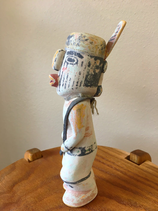 Medicine Carrier Kachina Doll, by Ferris Satala