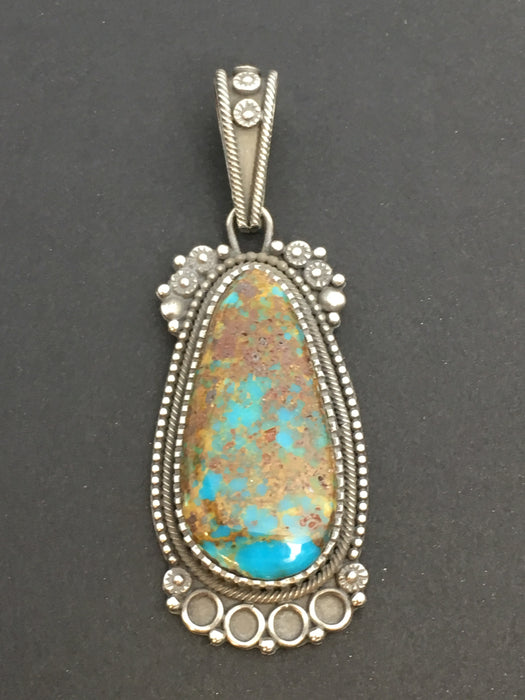 Royston Turquoise Pendant, by Ivan Howard
