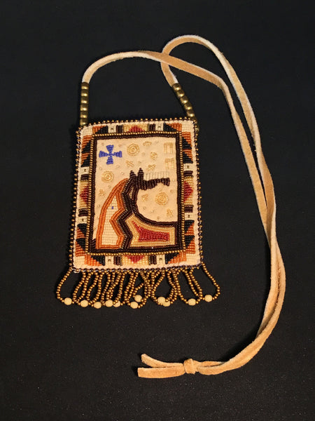 Palomino Horse Necklace Bag, by Jackie L. Bread