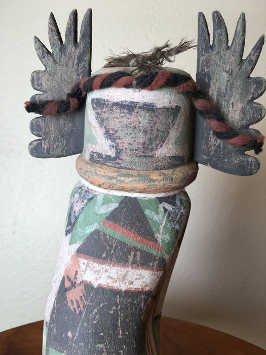 Crow Mother Kachina Doll, Old Style by Ferris Satala