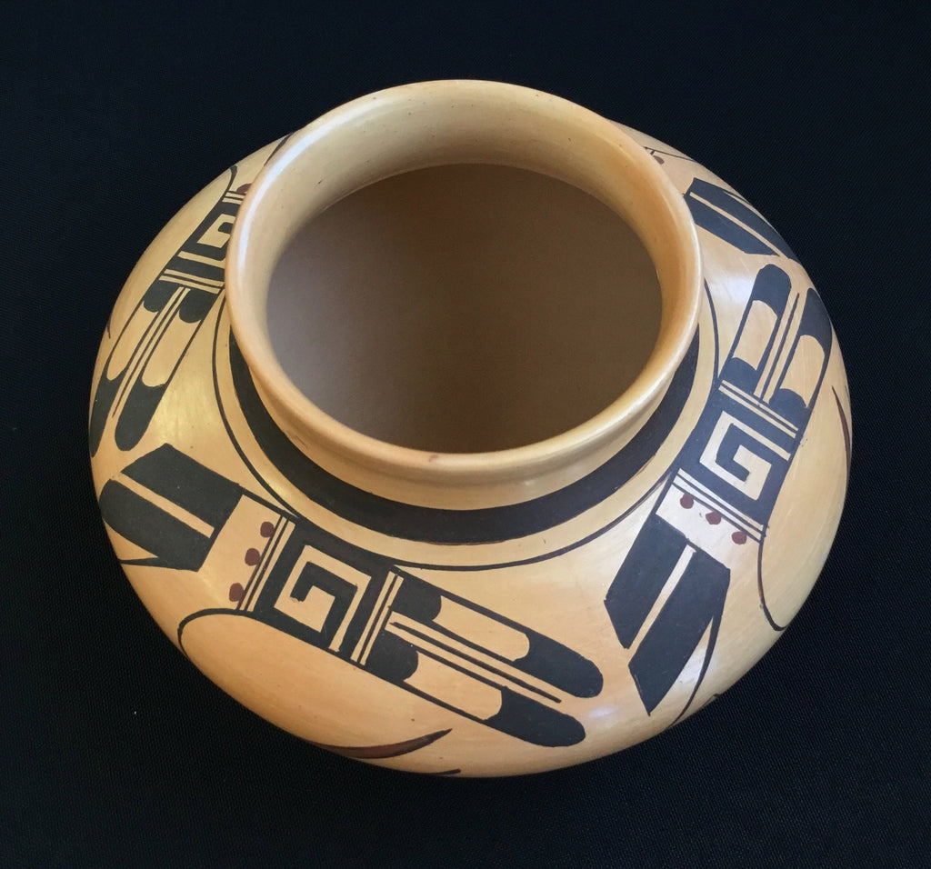 Hopi Polychrome Pot, by Fawn Navasie