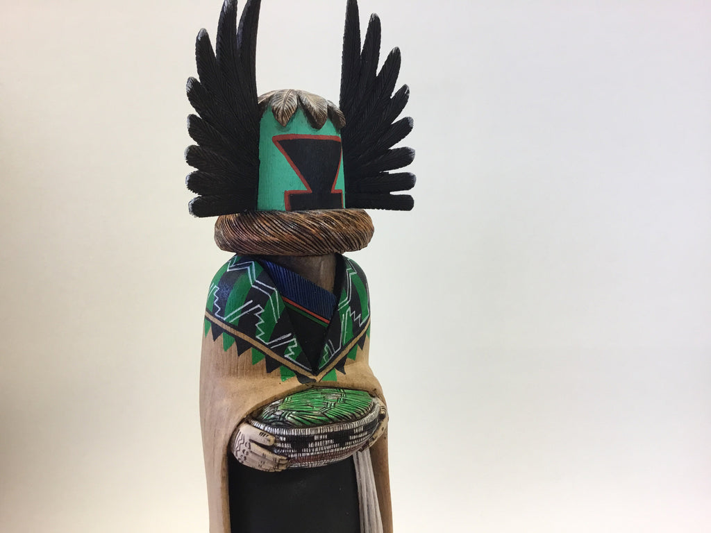Crow Mother Kachina Doll, by Wilmer Kaye