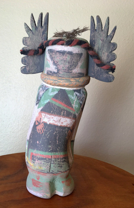 Crow Mother Kachina Doll, old style, Raven Makes Gallery