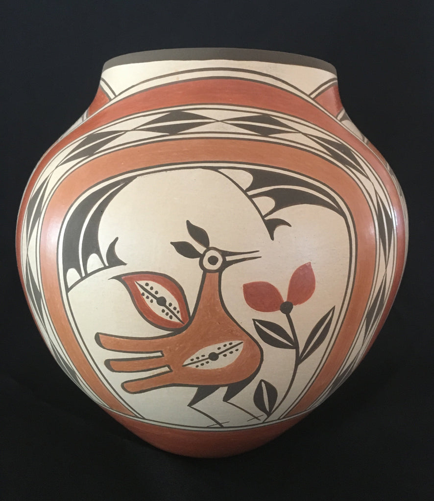 Zia Polychrome Pot, by Elizabeth Medina