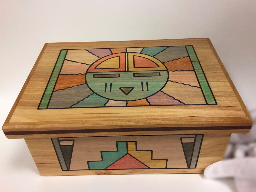 Hopi Sun Box, by Rick Honyouti