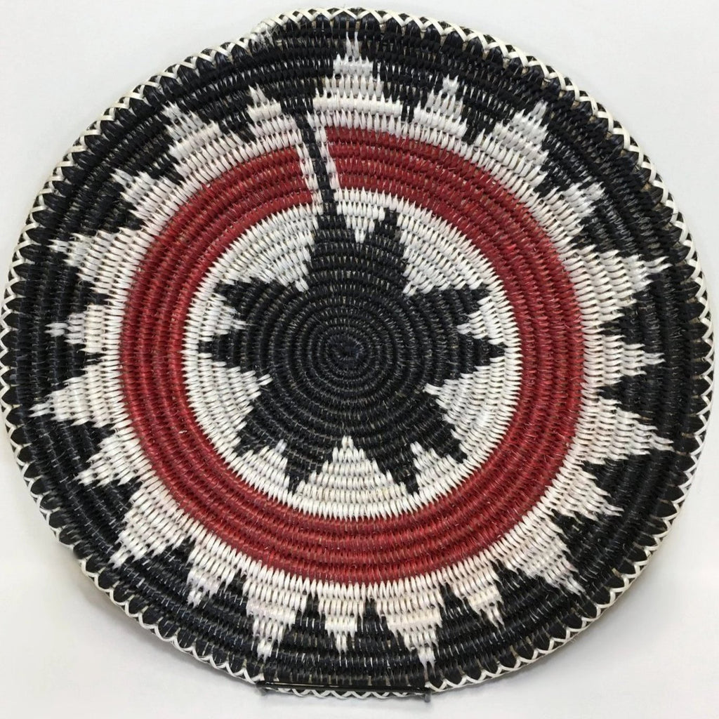 Navajo Basket, Inverse Ceremonial Design, by Peggy Black