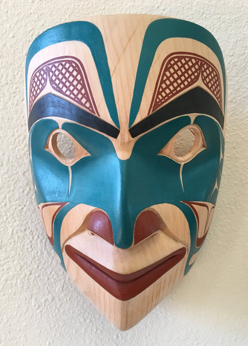 Portrait Mask, by David A. Boxley