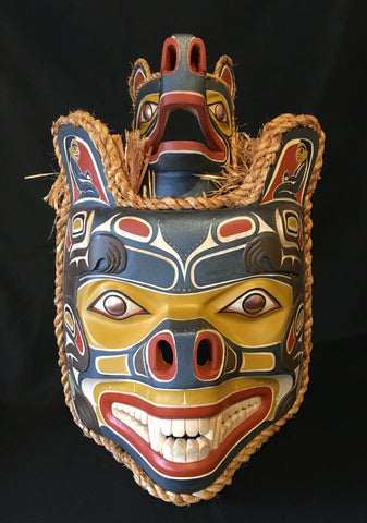 Alder Bear Mother Mask, by Randy Stiglitz