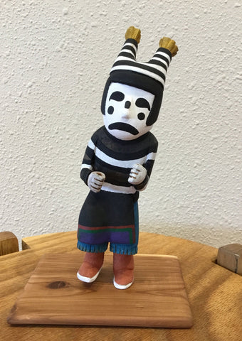 Little Clown Kachina Doll, by Wilfred Kaye