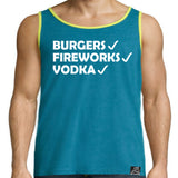 4TH of JULY TANK FUNNY HOLIDAY WEAR - 5 COLORS AVAILABLE!