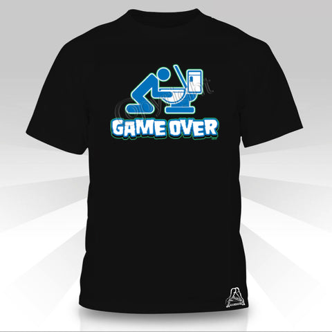 GAME OVER DRUNK T-SHIRT