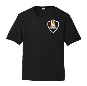 Inferno Soccer Shirt Black