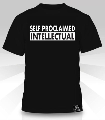 Self Proclaimed Intellectual  T-Shirt - Naked Aggression