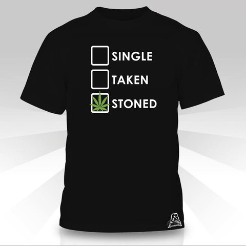 SINGLE TAKEN STONED T-SHIRT