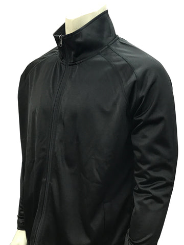 Bks232- New Smitty Solid Black Jacket
