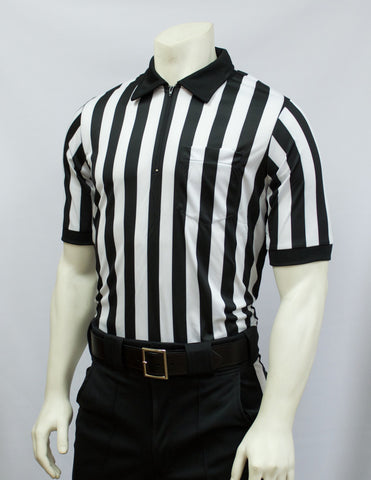 "FBS111-Smitty Elite Football Short Sleeve Shirt 1"" Stripe"