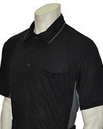 USA312-Short Sleeve MLB Style Black w/ Grey Side Panel