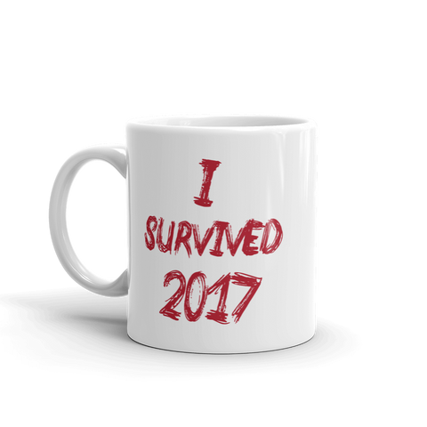 2017 Survival Mug (red lettering)