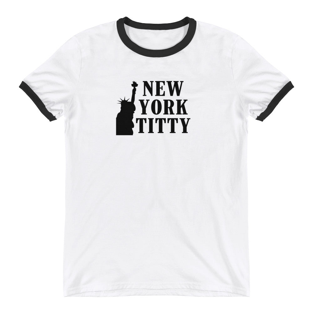 New York Titty Ringer T-shirt