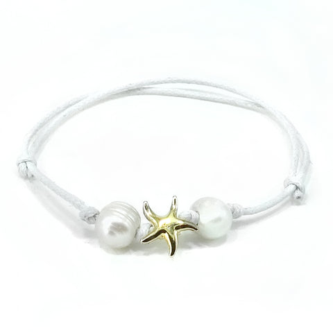 Starfish Beach Theme Adjustable Anklet