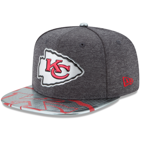 NFL Kansas City Chiefs Draft Spotlight New Era 9FIFTY Snapback