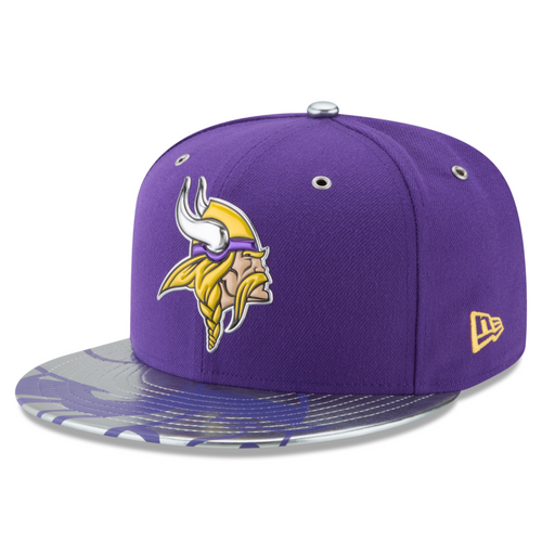 NFL Minnesota Vikings Draft Spotlight New Era 59FIFTY Hat