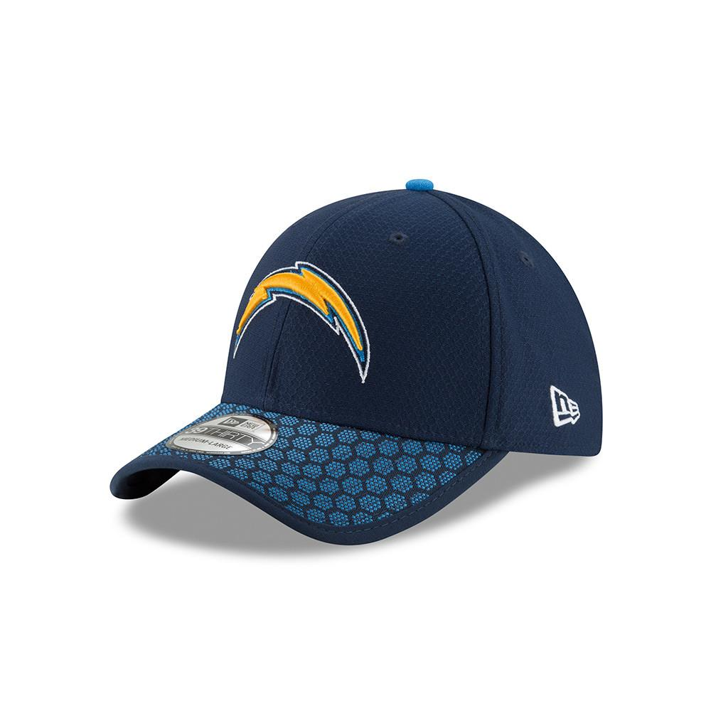 NFL Los Angeles Chargers New Era 2017 Official Sideline 39THIRTY Flex