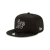 MLB Oakland Athletics New Era 2020 Alternate Black & White Clubhouse 9FIFTY - Black