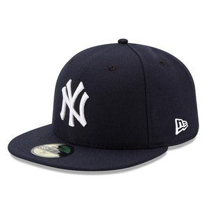 MLB New York Yankees Youth Authentic Collection New Era Fitted 59FIFTY Hat New Era  New Era Headwear - Just Sports