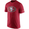 NFL San Francisco 49ers Nike Cotton Essential Logo Tee - Red