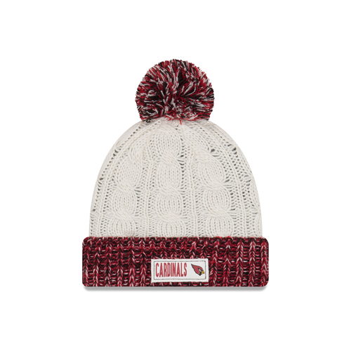 NFL Arizona Cardinals Women's New Era Rugged Tag Knit