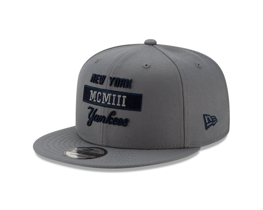 MLB New York Yankees New Era Stack 9FIFTY - Gray