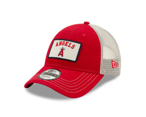 MLB Los Angeles Angels New Era Truck 9FORTY - Red - Just Sports