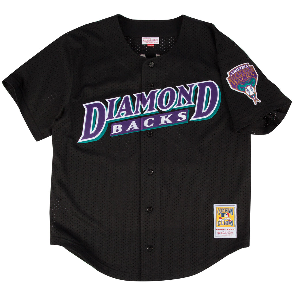 MLB Arizona Diamondbacks Randy Johnson Mitchell & Ness Retro Authentic BP Jersey