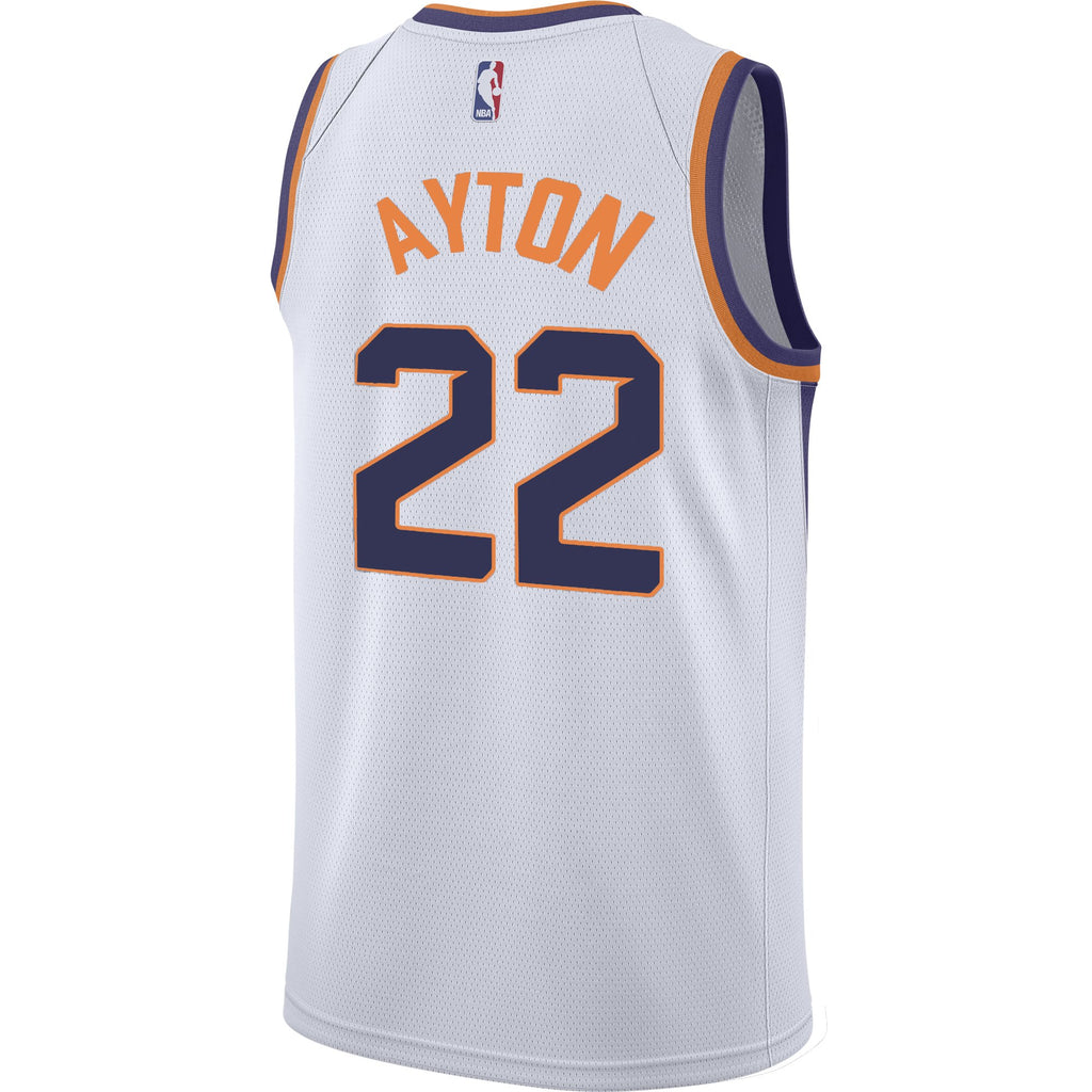 NBA Phoenix Suns Deandre Ayton Nike Association Swingman Jersey - White