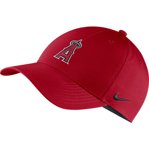 MLB Los Angeles Angels Nike Dry L91 Adjustable - Red - Just Sports