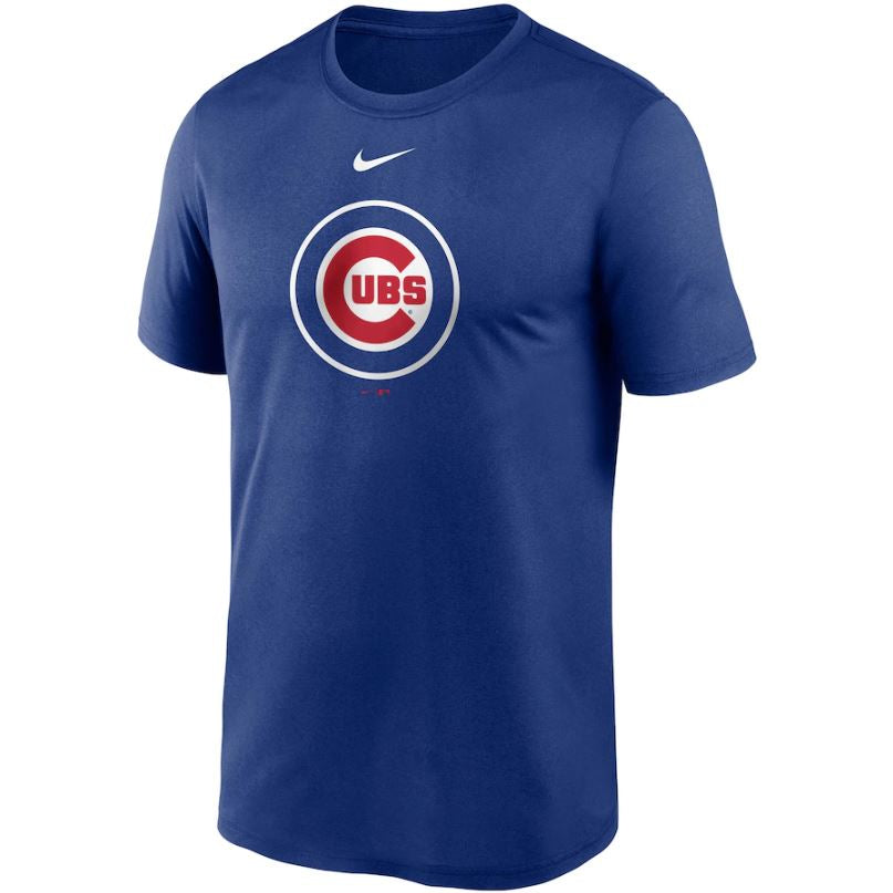 MLB Chicago Cubs Nike Large Logo Legend Tee - Blue