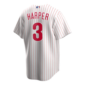 MLB Philadelphia Phillies Bryce Harper Nike Official Alternate Replica Jersey - White - Just Sports