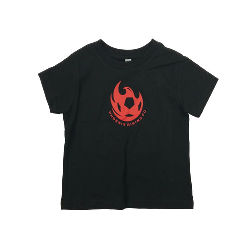 Phoenix Rising Toddler Basic Ball Tee - Black