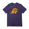 NBA Phoenix Suns Nike Shooting Ball Triblend Tee - Purple