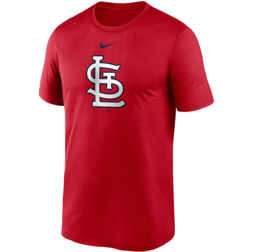 MLB St. Louis Cardinals Nike Large Logo Legend Tee - Red