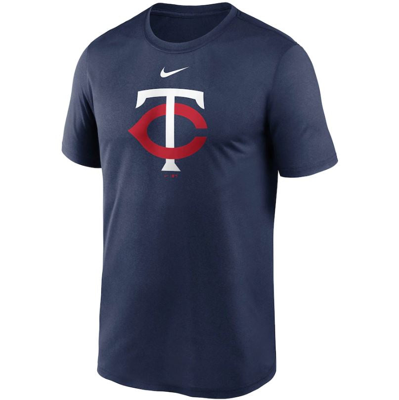 MLB Minnesota Twins Nike Large Logo Legend Tee - Navy