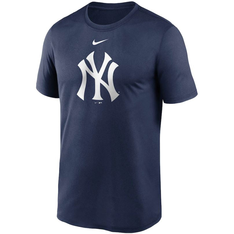 MLB New York Yankees Nike Large Logo Legend Tee - Navy