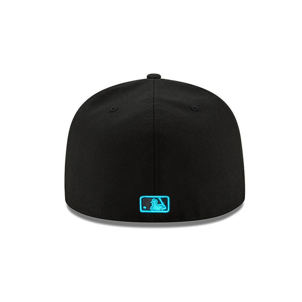MLB Arizona Diamondbacks New Era Teal Eyes 59FIFTY - Black