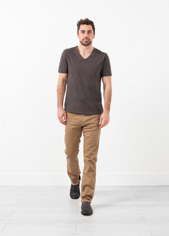 Alex Twill Pant in Sand